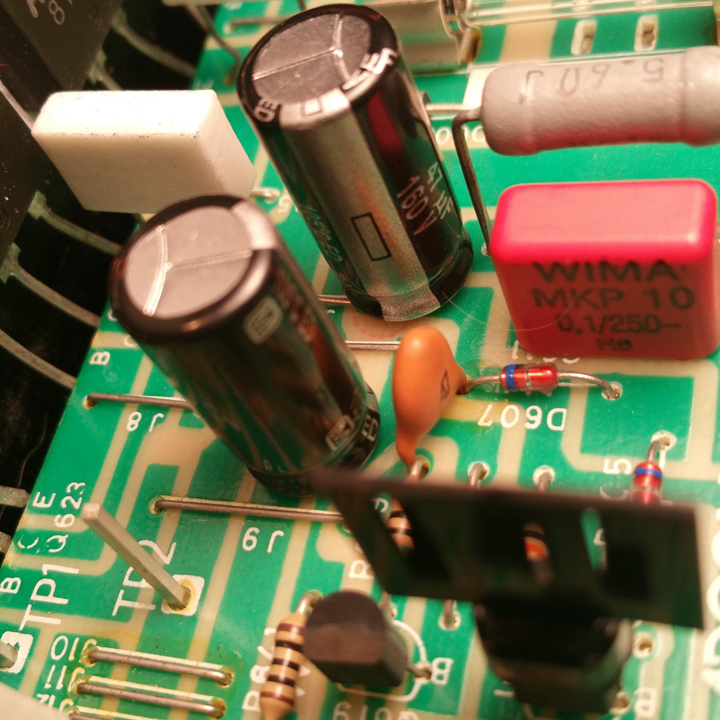 Classic Adcom Service Repair And Restoration Madison Wi Electronic Circuit Board Field Hoppes Brain